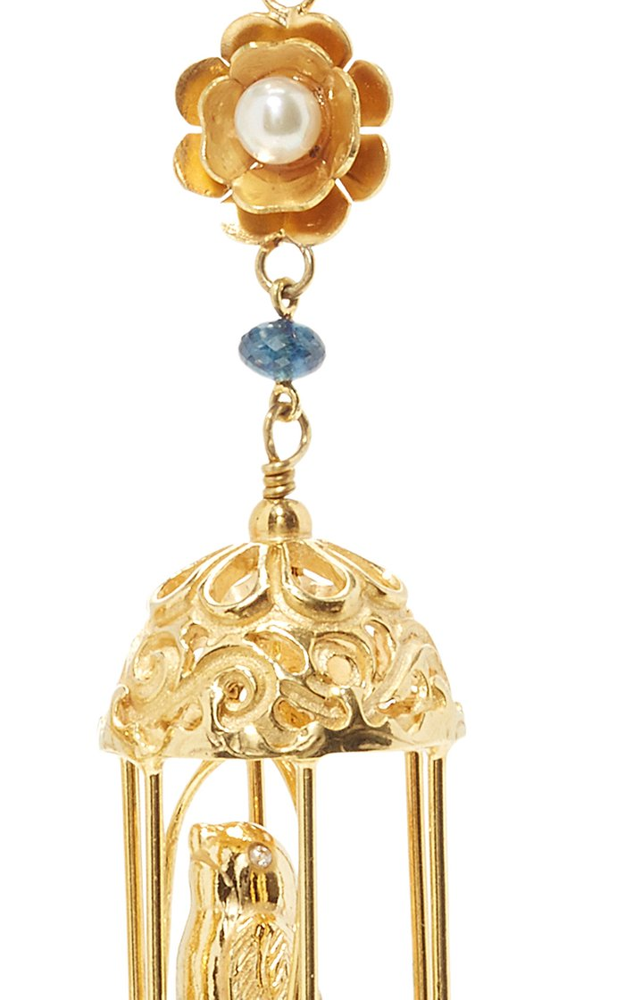 Exclusive Gold Aviary Classic Earrings