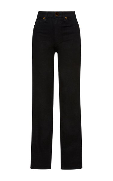Vanessa High-Rise Straight-Leg Jeans