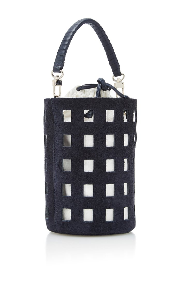 Cut-Out Bucket Bag