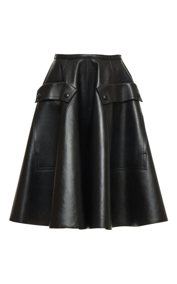 Skater Knee Length Skirt