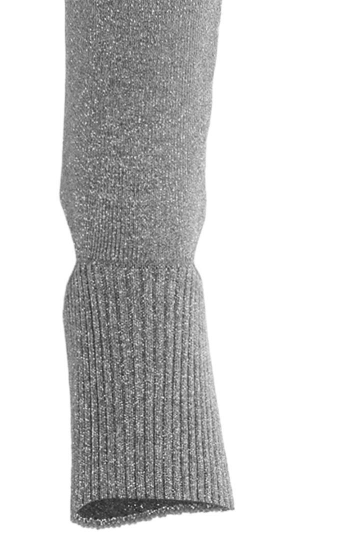 Metallic Knit Legging