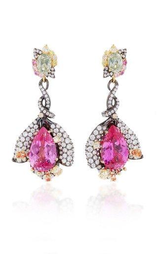 Exclusive: Fuchsia Sapphire Earrings