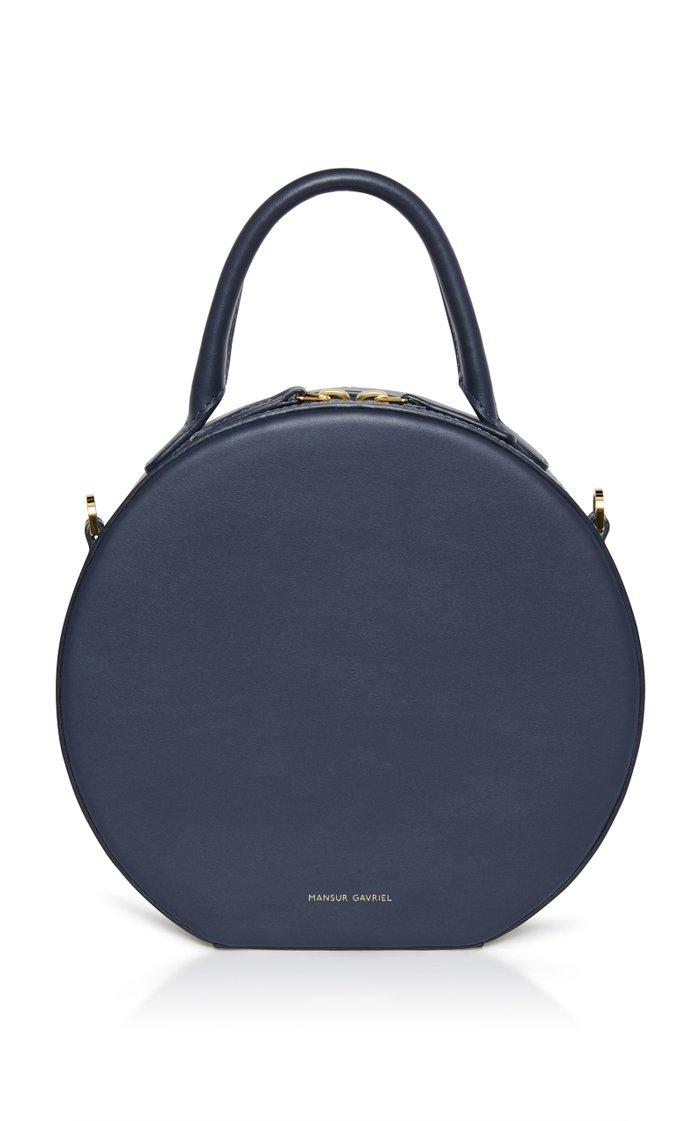 Mini Circle Leather Bag