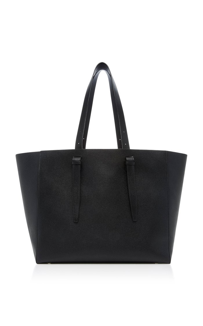 Soft XL Leather Tote