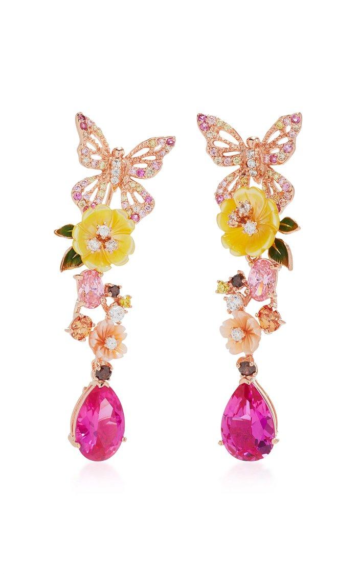 Exclusive: Rose Vine Earrings