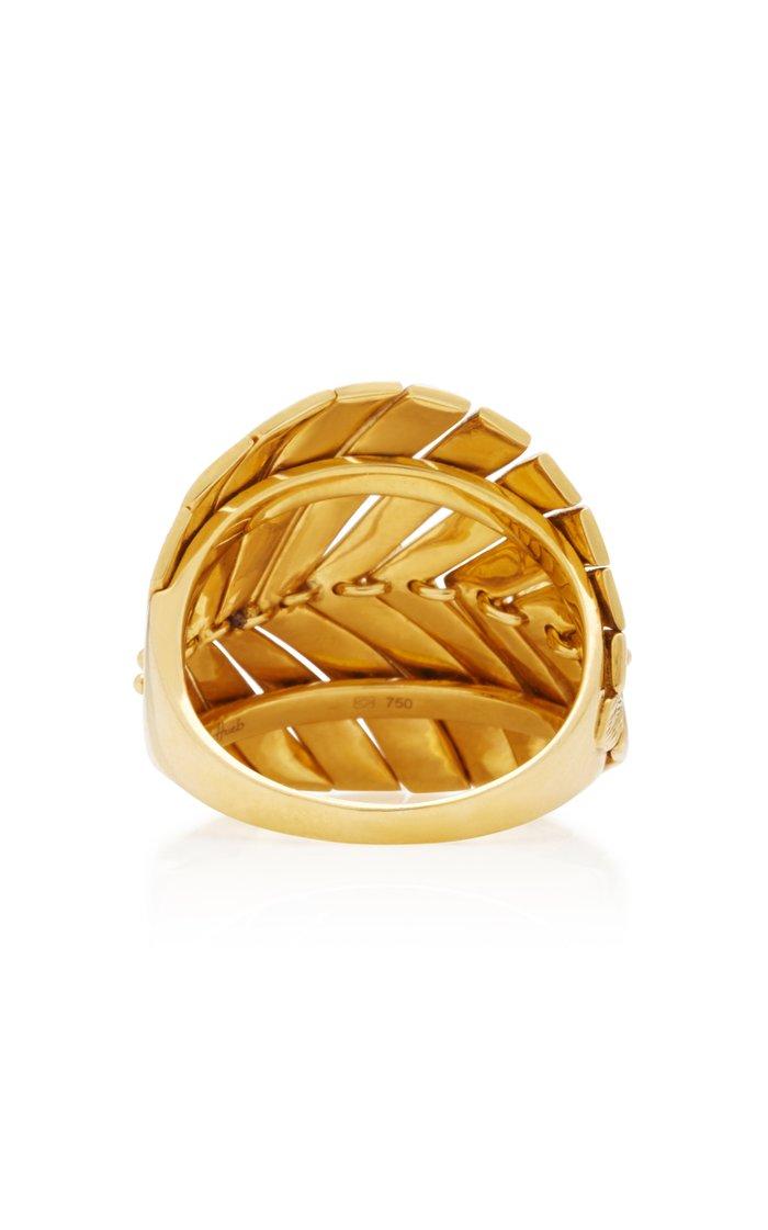 Bahia 18K Gold Diamond Ring