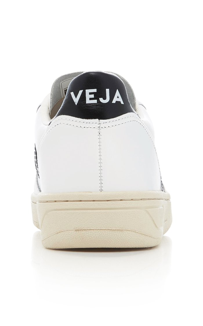 V10 Leather Sneakers