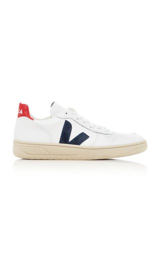 V10 Nautico Leather Sneakers