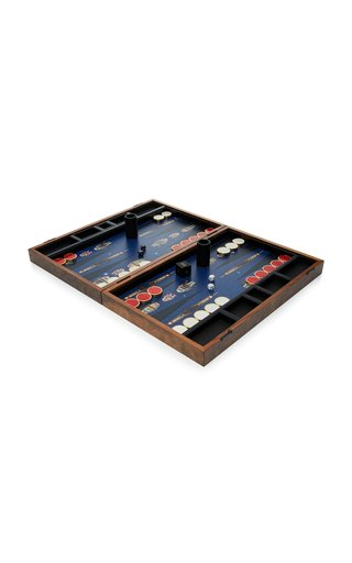 M'O Exclusive Robot Backgammon Set
