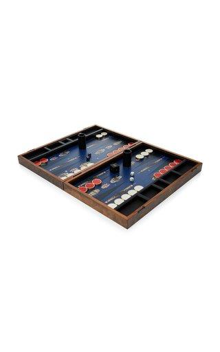 M'O Exclusive Robot Backgammon Set