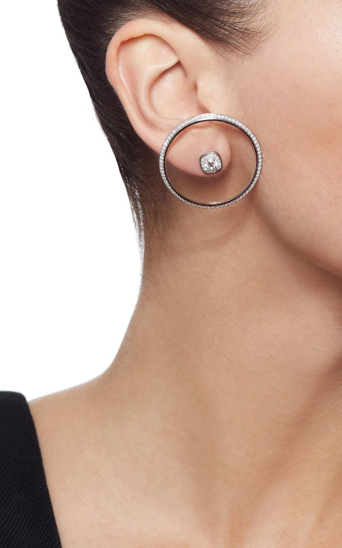 Universe Single Earring with Removable Stud