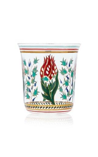 Persian No. 1 Handpainted Floral Motif Tumbler