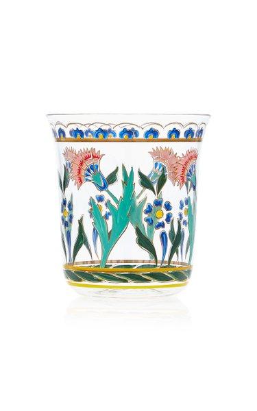 Persian No. 3 Handpainted Floral Motif Tumbler