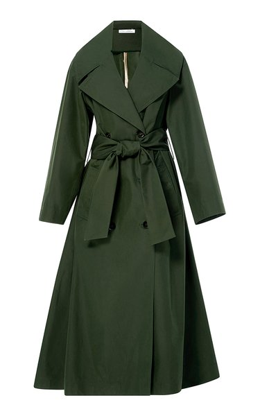Knee Length Trench Coat