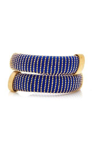 Cobalt Caro Gold-Plated Bracelet