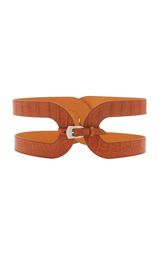 Exclusive Crocodile Waist Belt
