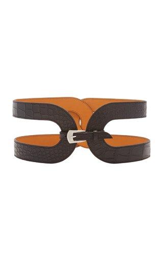 Exclusive Crocodile Waist Belt