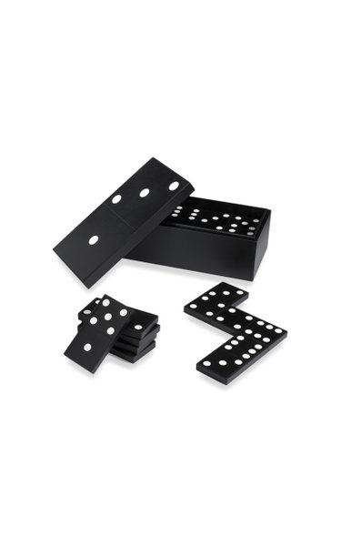 Leather Carpet Dominoes Box Set