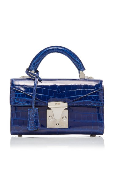 Mini Fold-Over Alligator Bag