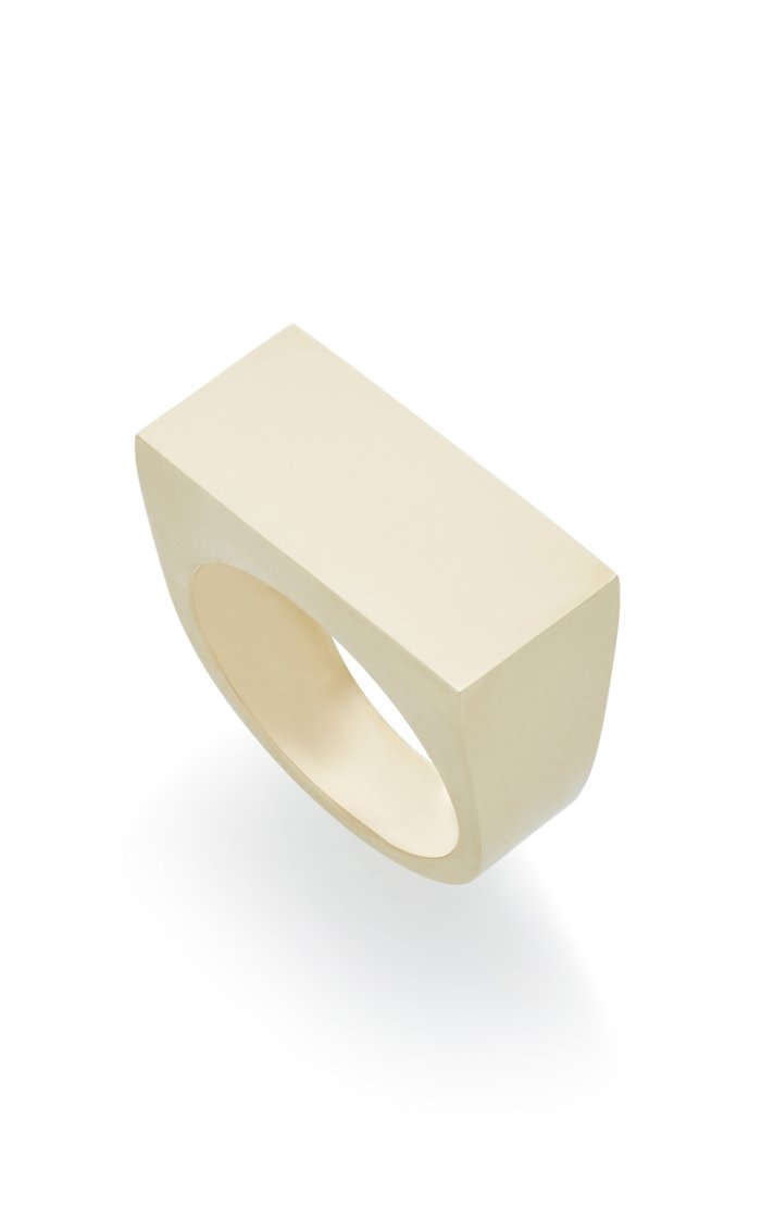 No ID 14K Gold Ring