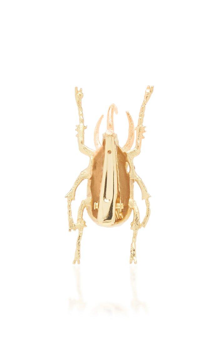 M'O Exclusive Beetle Pin