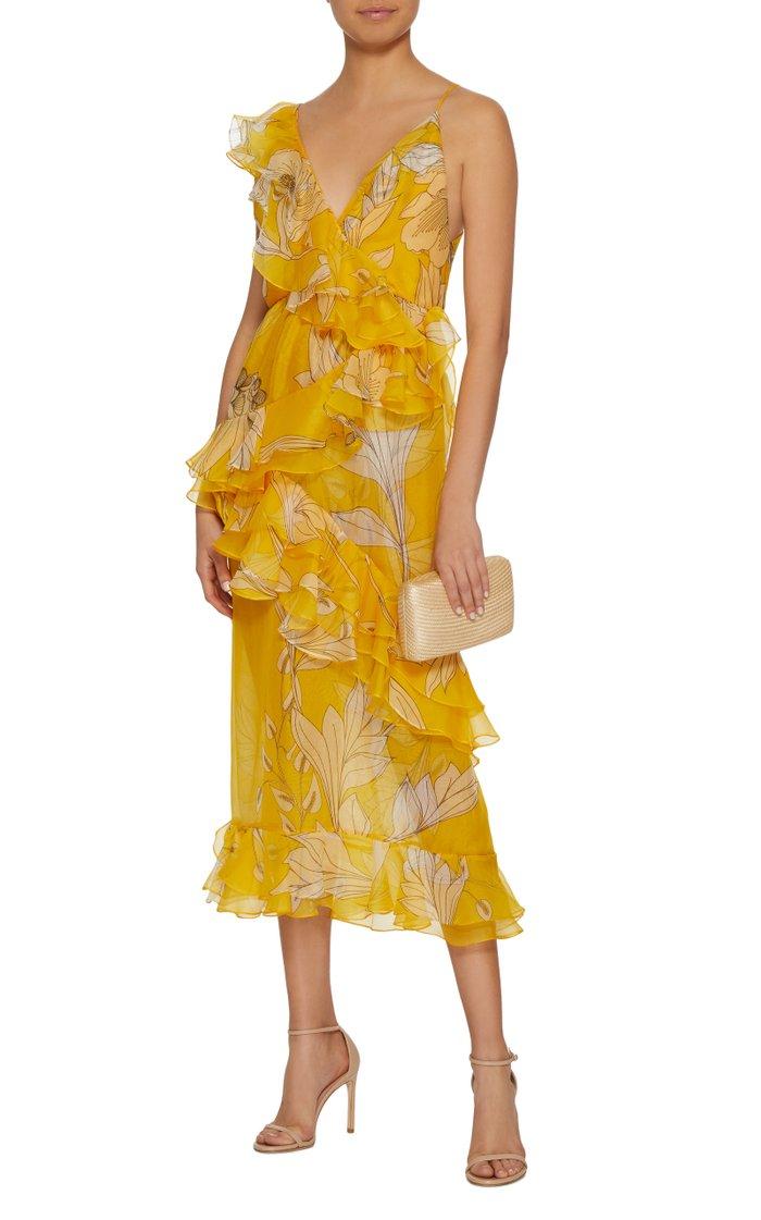 Sunlight Silk Organza Dress