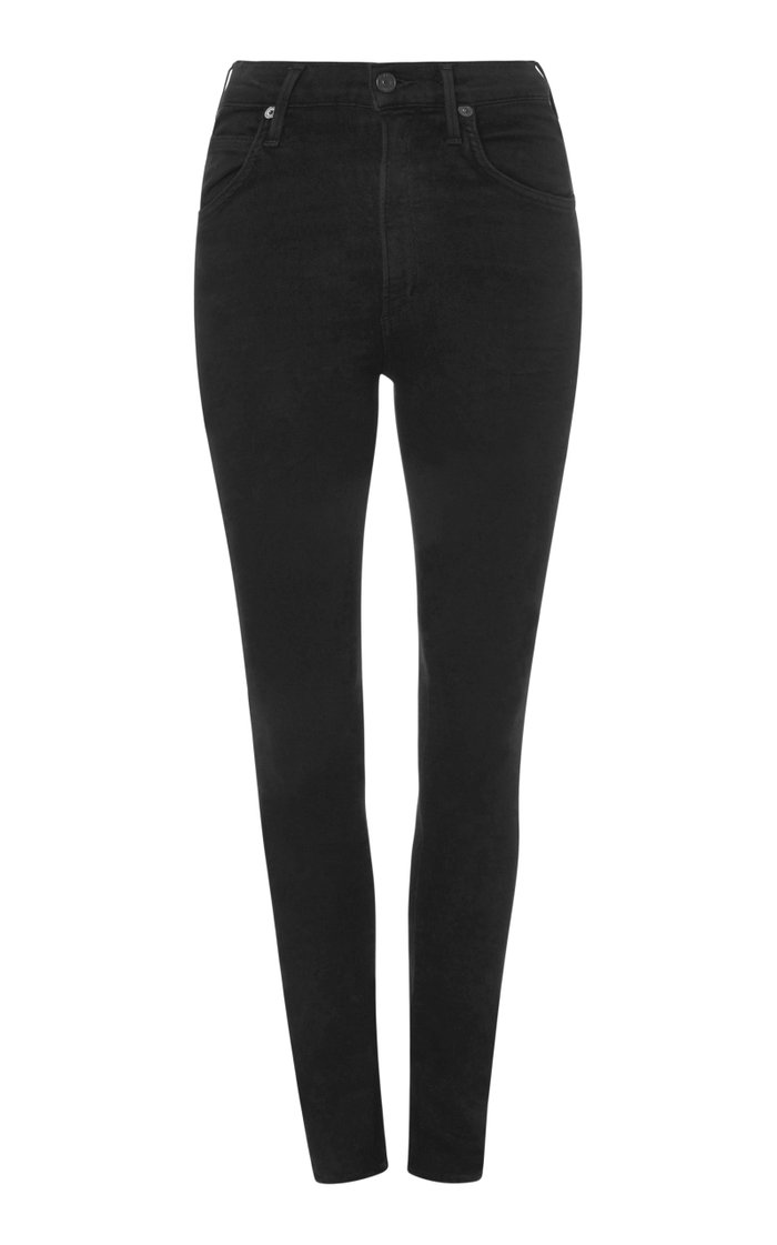 Chrissy High-Rise Skinny Jeans