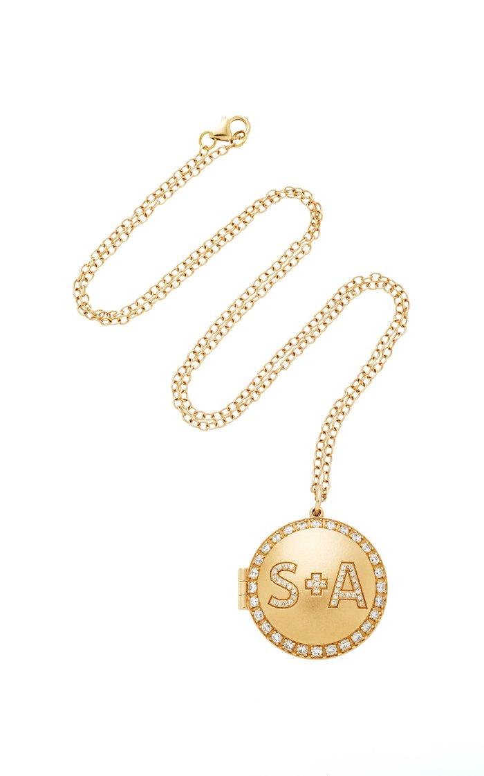 Personal Locket Necklace