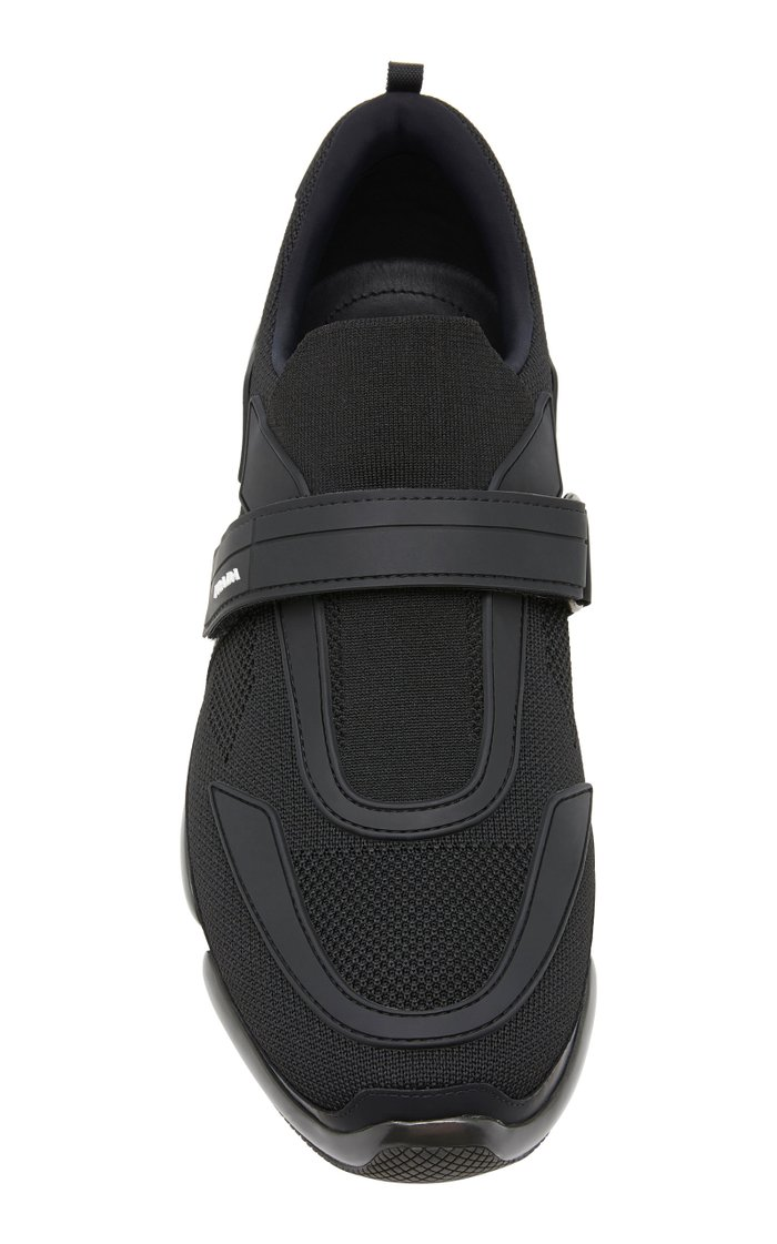 Cloudbust Stretch-Knit Low-Top Sneakers