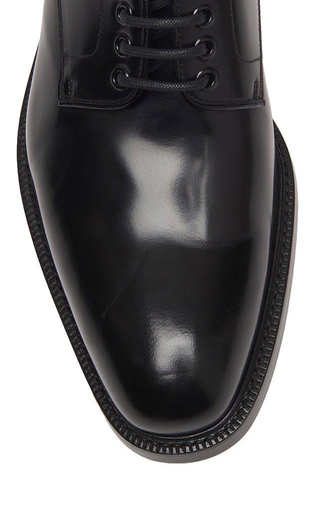 Lace-Up Calfskin Blucher Shoes