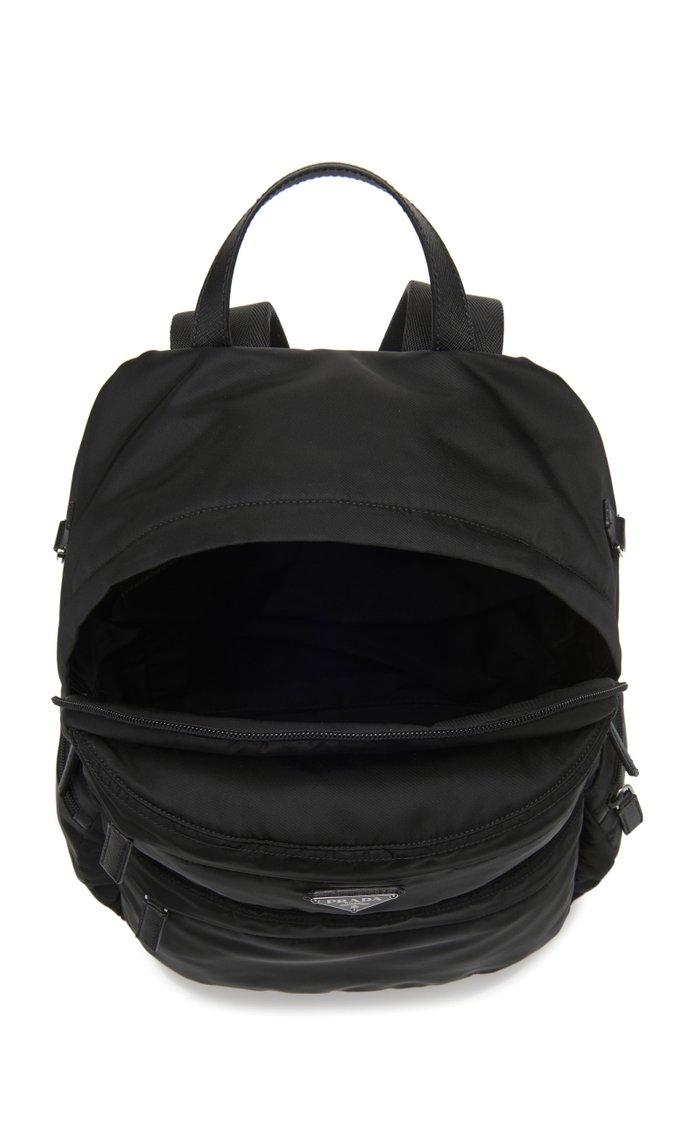 Nylon Multi-Pocket Backpack