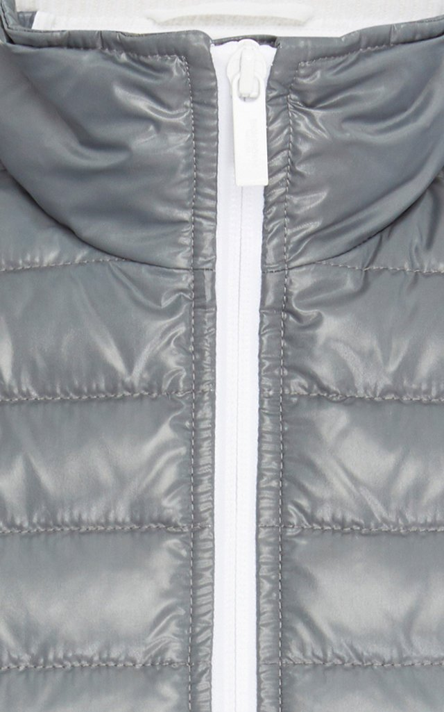 Two-Tone Quilted Down Vest