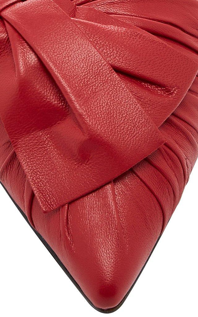 Ballerina Leather Slingback Flat