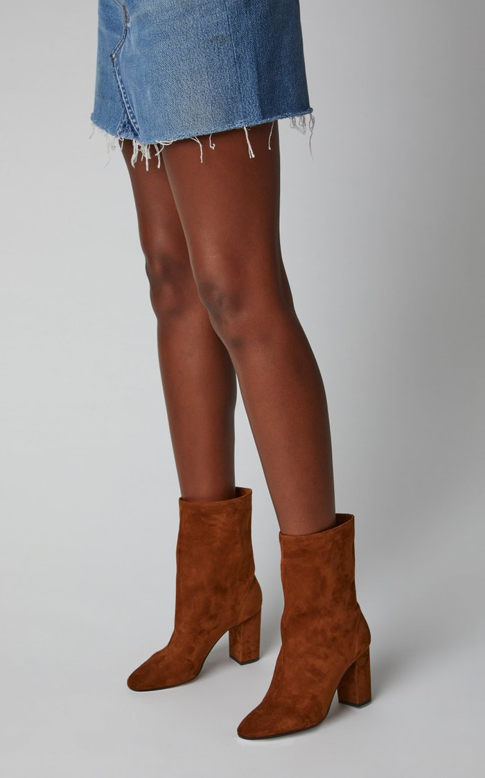 Boogie Suede Ankle Boots