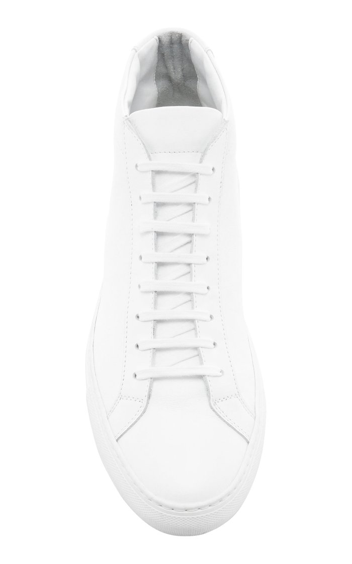 Achilles Leather High-Top Sneakers