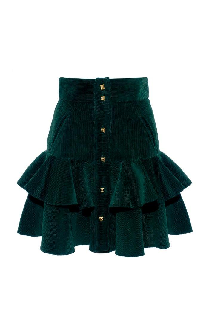 Carmen Ruffle Mini Skirt