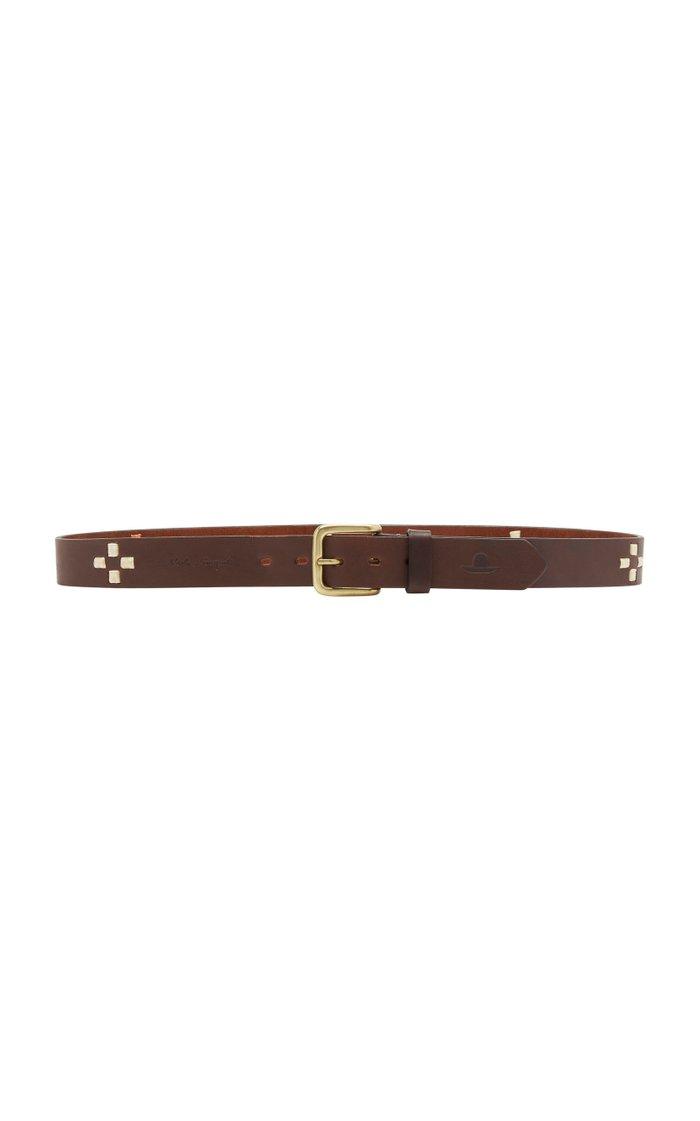 Tangerine Cross Argentinian Leather Belt