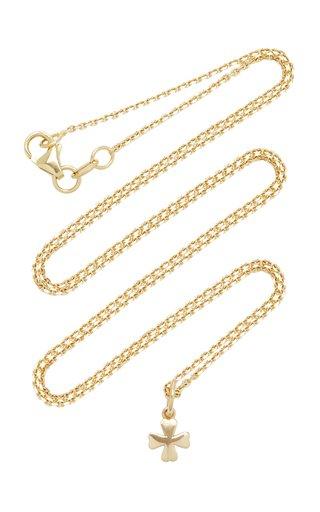 Clover 18K Gold Necklace