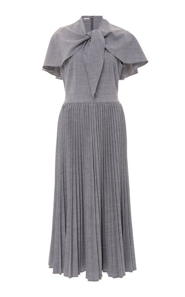 Midi Pleated Dress