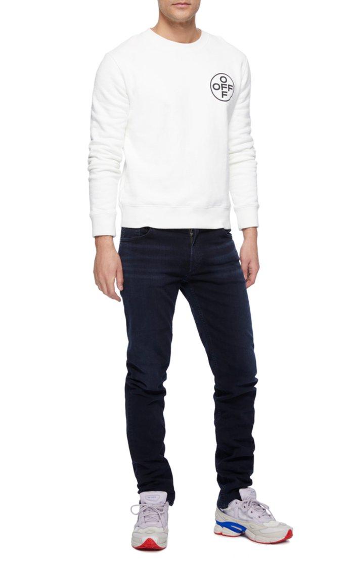 Noah Dark-Wash Skinny Jeans