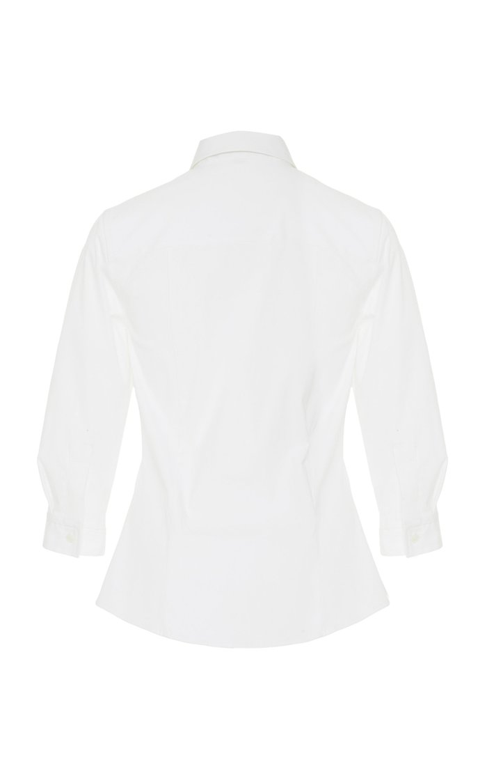 Classic Cotton Collared Shirt