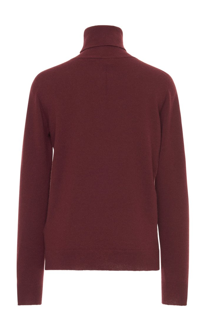 Eternal Cashmere Fitted Turtleneck