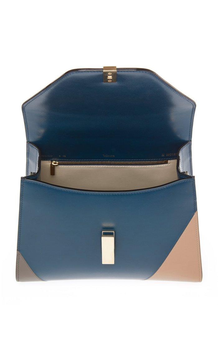 Iside Medium Color-Blocked Leather Shoulder Bag