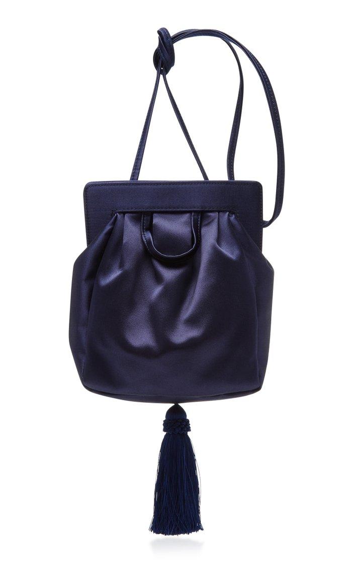 Matilda Satin Shoulder Bag