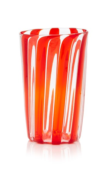 Set-of-Four XL Berlingot Striped Glasses