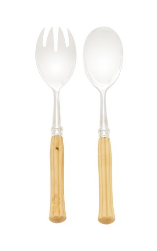 Majestic Boxwood Silver-Plated Salad Set