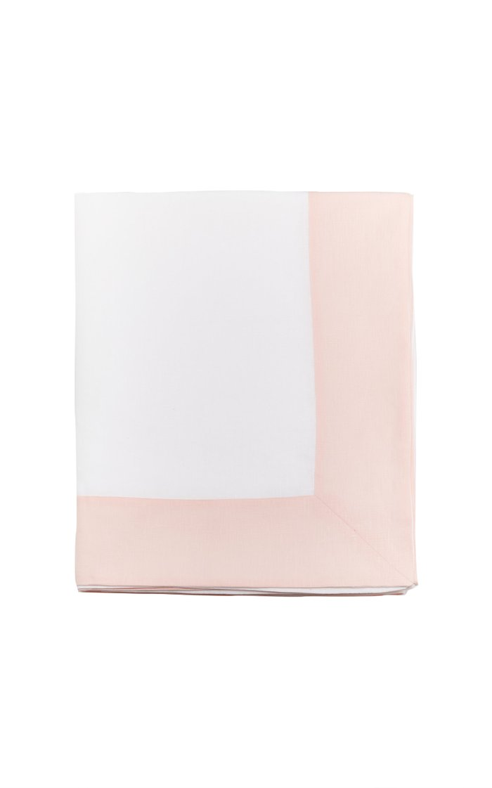 Two-Tone Linen Tablecloth