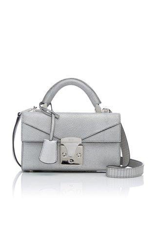 Exclusive Metallic Lizard Handbag