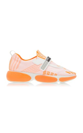 Prada Allacciate Sneakers In Orange