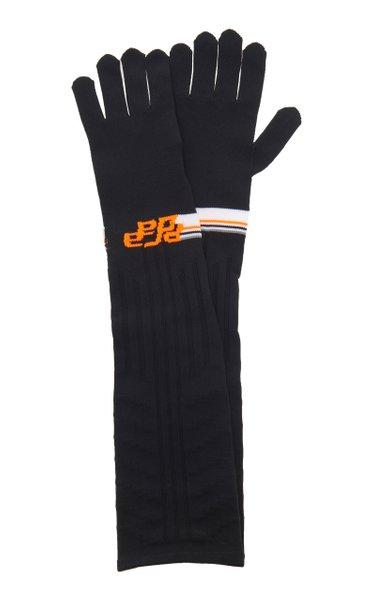 Long Prada Gloves